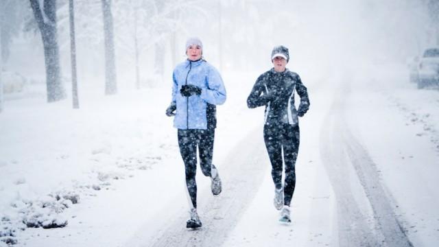 futás télen ruha